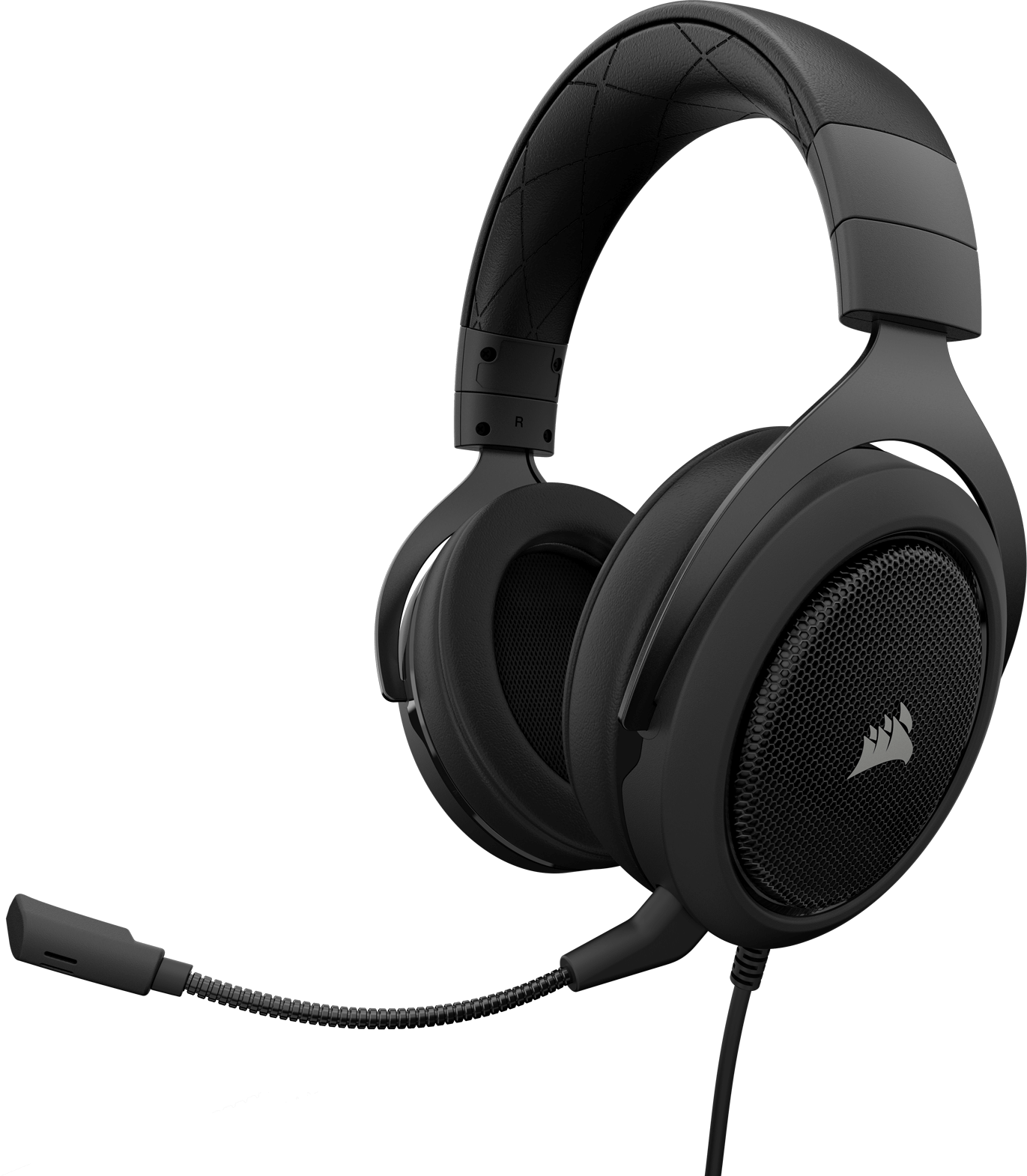 HS60 SURROUND Gaming Headset — Carbon on