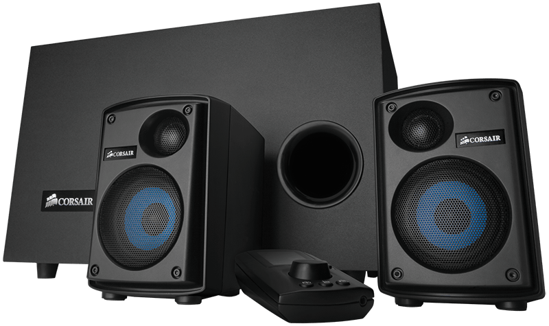 Gaming Audio Series™ SP2500 High-power 2 1 PC Speaker System
