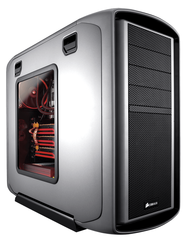 Graphite Series™ 600T Silver Mid-Tower Case