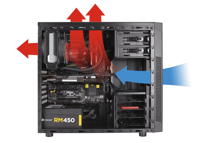 the best attitude 9293c 3493b Carbide Series™ 100R Mid-Tower Case