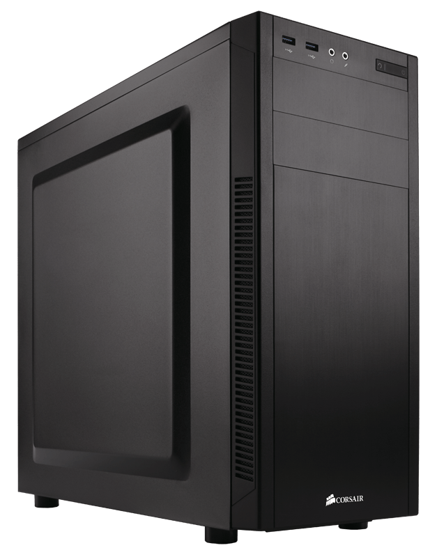 Corsair carbide series 100r silent edition mid tower case office.