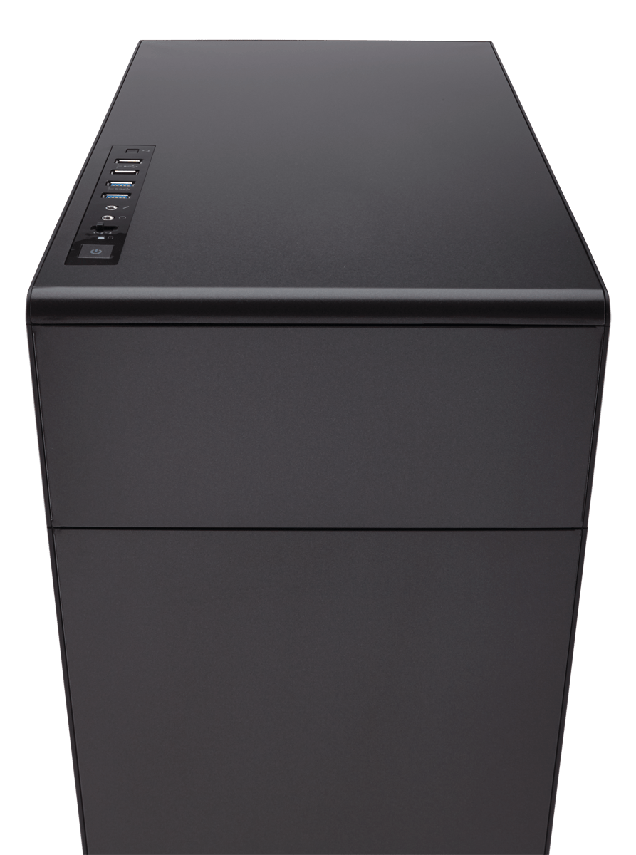 Carbide Series Quiet 600q Inverse Atx Full Tower Case Corsair Cases Wiring Diagrams Get Rid Of Those Plastic The Has Steel Front And Top Panels For Extra Durability Gorgeous Good Looks