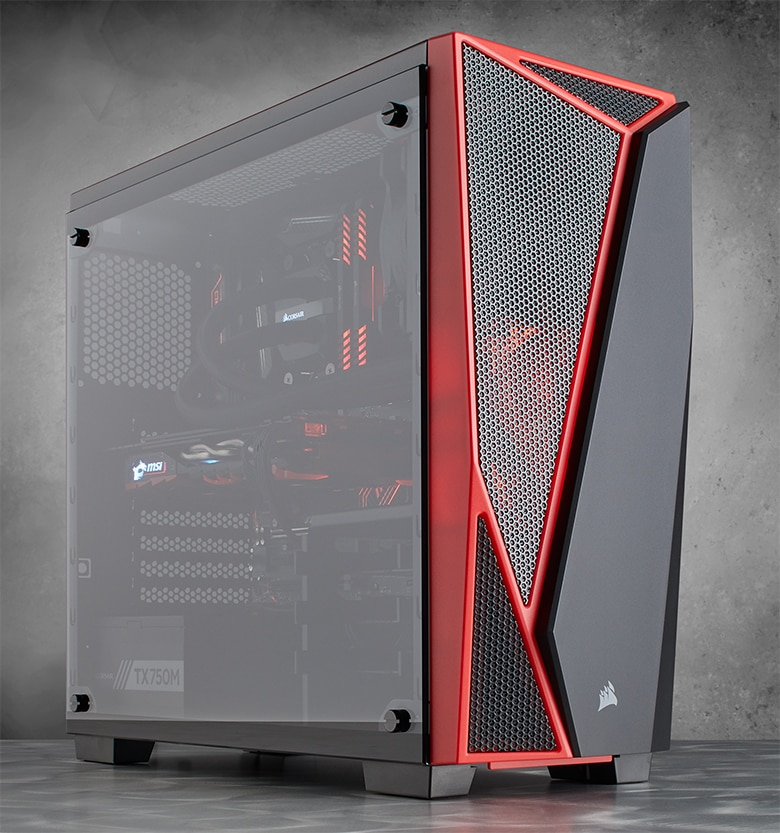 04: Carbide Series® SPEC-04 Tempered Glass Mid-Tower Gaming