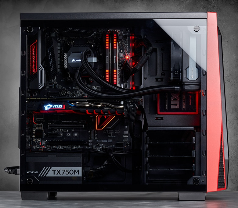Carbide Series 174 Spec 04 Tempered Glass Mid Tower Gaming