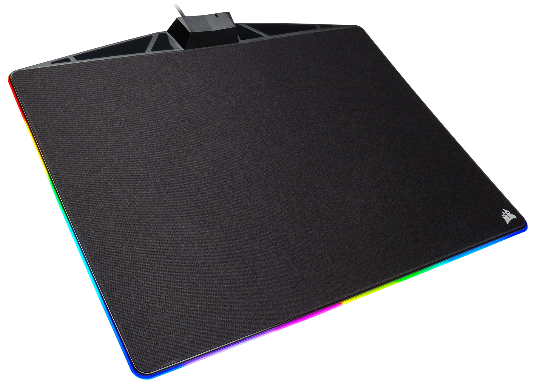 Mm800 Rgb Polaris Gaming Mouse Pad Cloth Edition Create Secondary Colors From Multicolored Leds Edn The Builds On Foundation Of Corsair Pads Excellence In Durability Tracking And Precision With A Whole New Level