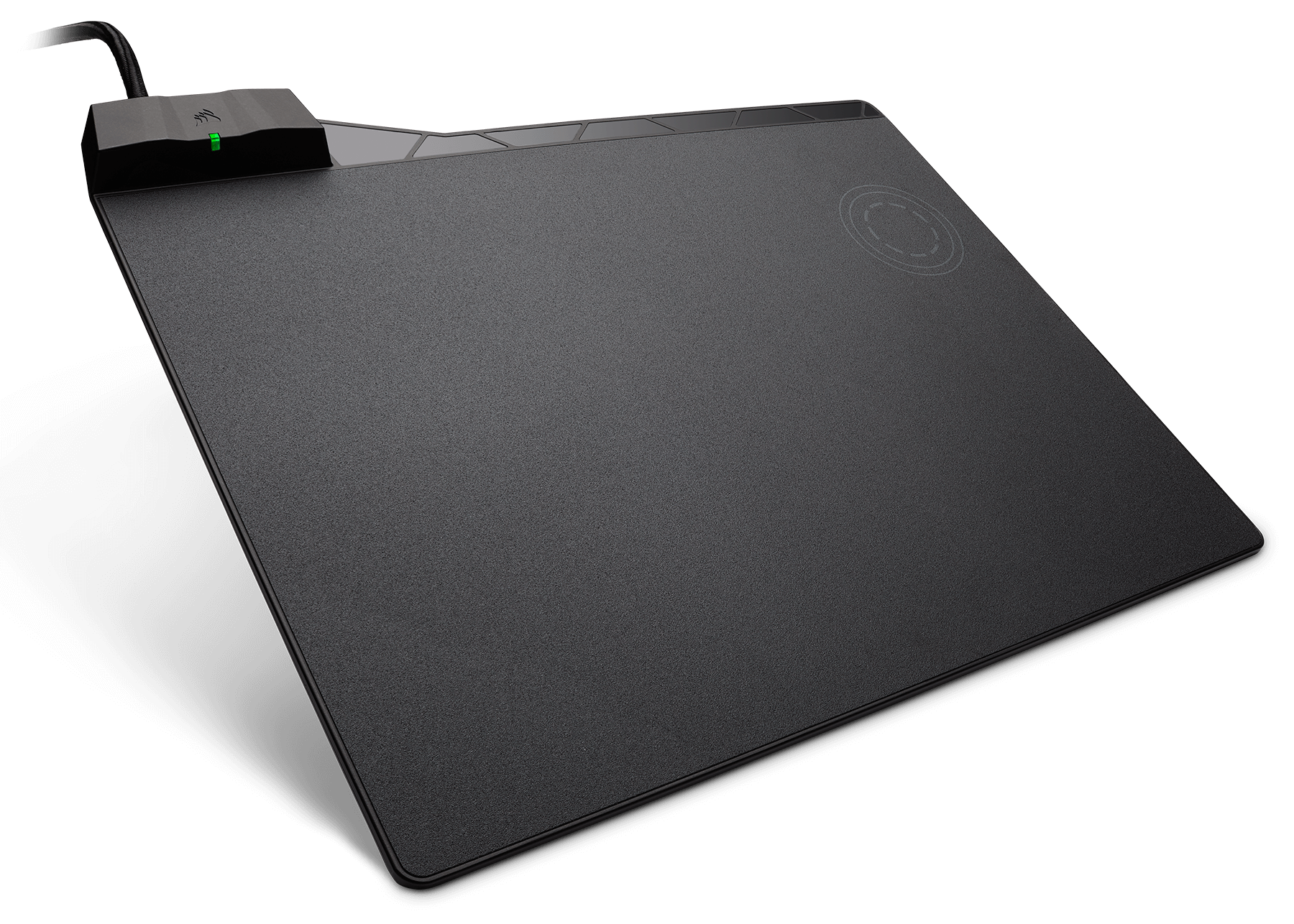 The Corsair Mm1000 Qi Wireless Charging Mouse Pad Combines Convenience Of With A Performance Micro Textured Surface