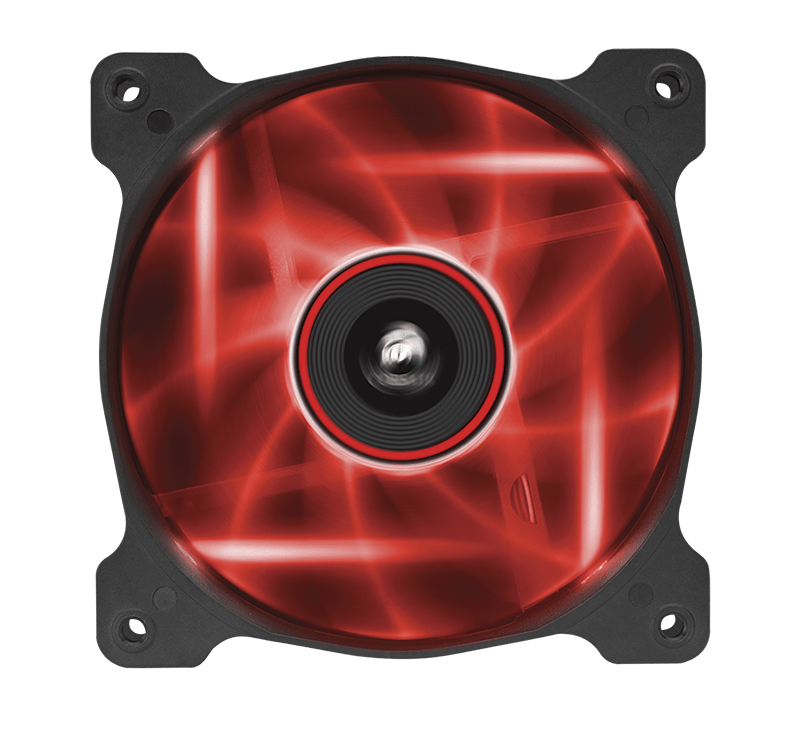 Air Series™ AF120 LED Red Quiet Edition High Airflow 120mm