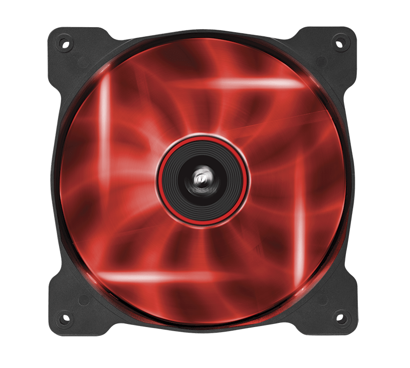 Air Series Af140 Led Red Quiet Edition High Airflow 140mm Fan