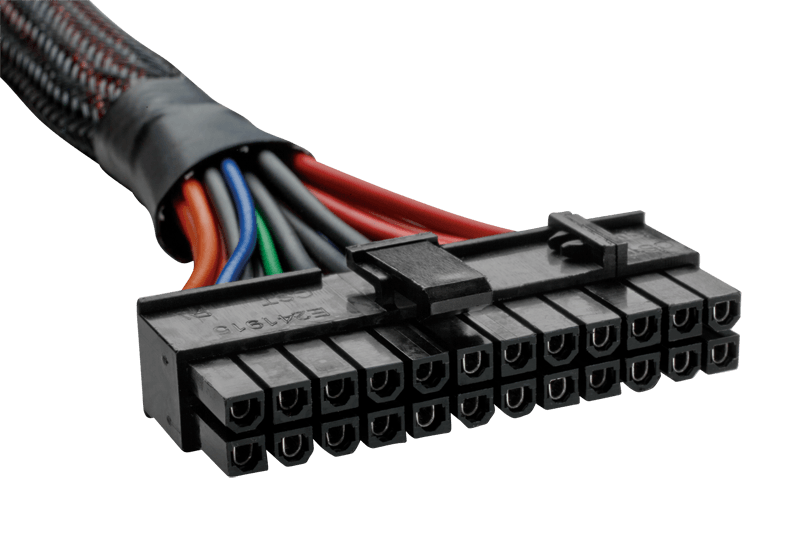 AX Series™ 24 pin modular cable, compatible with AX1200 only