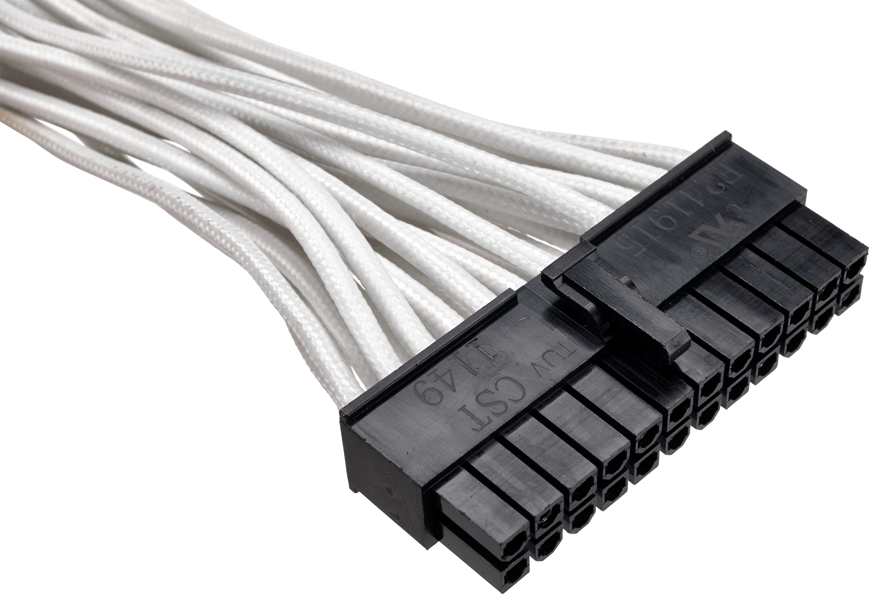 Premium Individually Sleeved Atx 24 Pin Cable Type 4 Generation 3 Cables Plus Usa Fiber Optic Glass Attributes And Characteristics Features