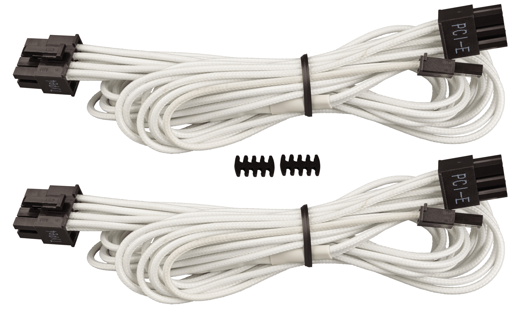 Premium Individually Sleeved PCIe Cables with Single Connector, Type ...