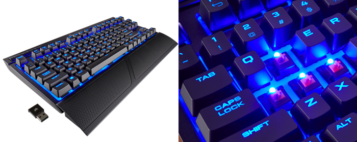 4c75b371a7f K63 Wireless features strong 128-bit AES encryption, protecting your  keystrokes from wireless eavesdropping. The K63 Wireless' tenkeyless layout  ...