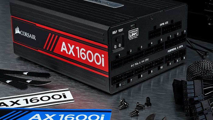 AX1600i Digital ATX Power Supply