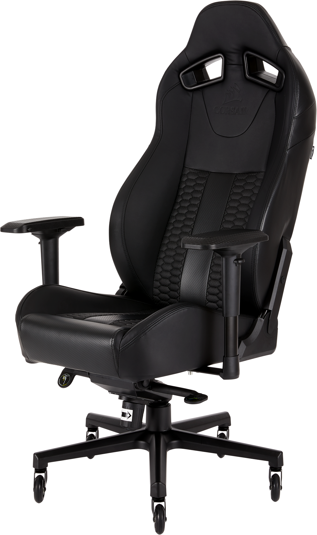 Corsair T2 Road Warrior Gaming Chair Black Black
