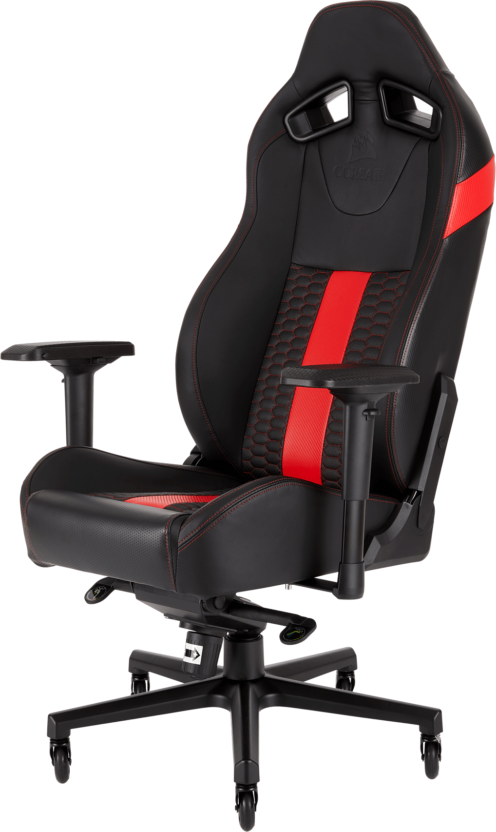 Corsair T2 Road Warrior Gaming Chair Black Red