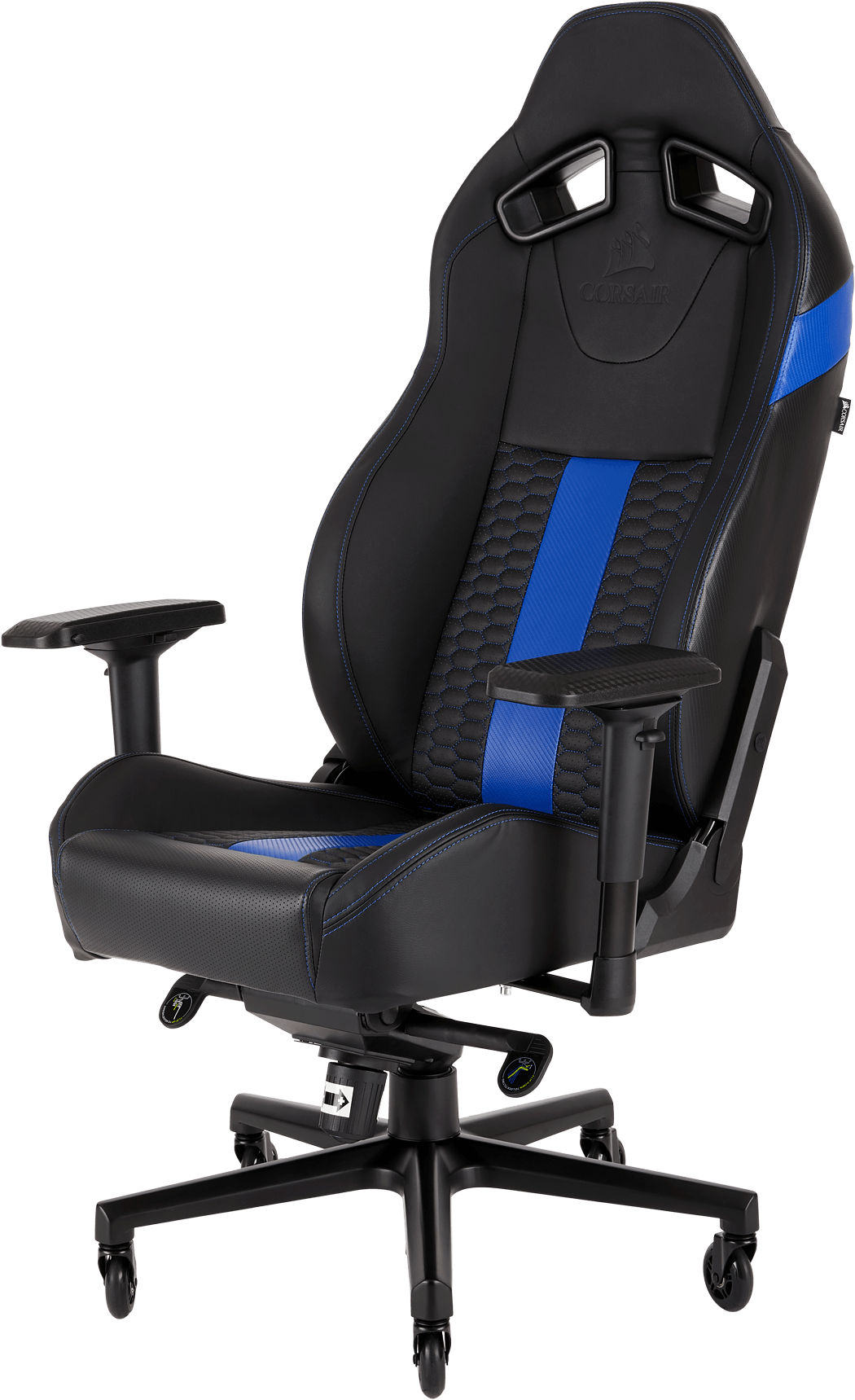 T2 ROAD WARRIOR Gaming Chair — Black/Blue