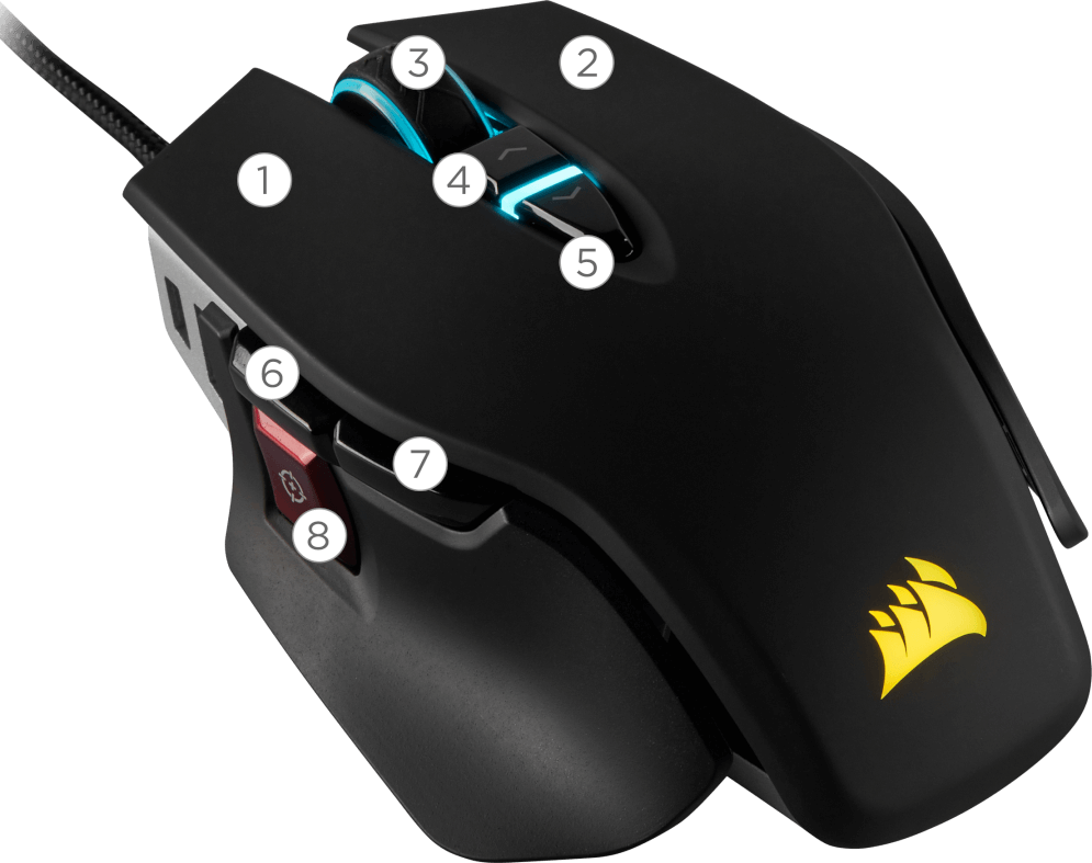 DRIVERS UPDATE: CORSAIR GAMING M65 RGB MOUSE