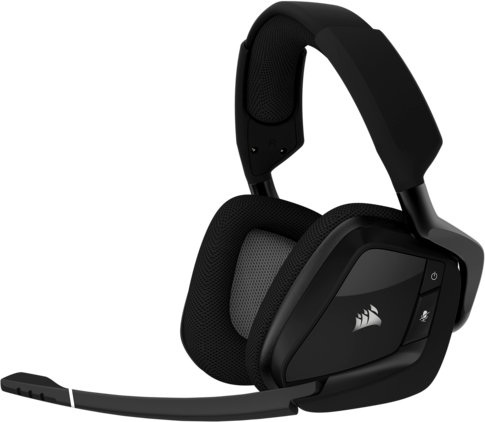 CORSAIR VOID PRO RGB WIRELESS GAMING-HEADSET - SCHWARZ