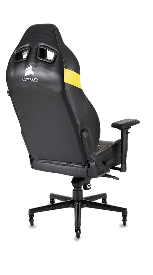 T1 Race T2 Road Warrior Gaming Chairs Corsair