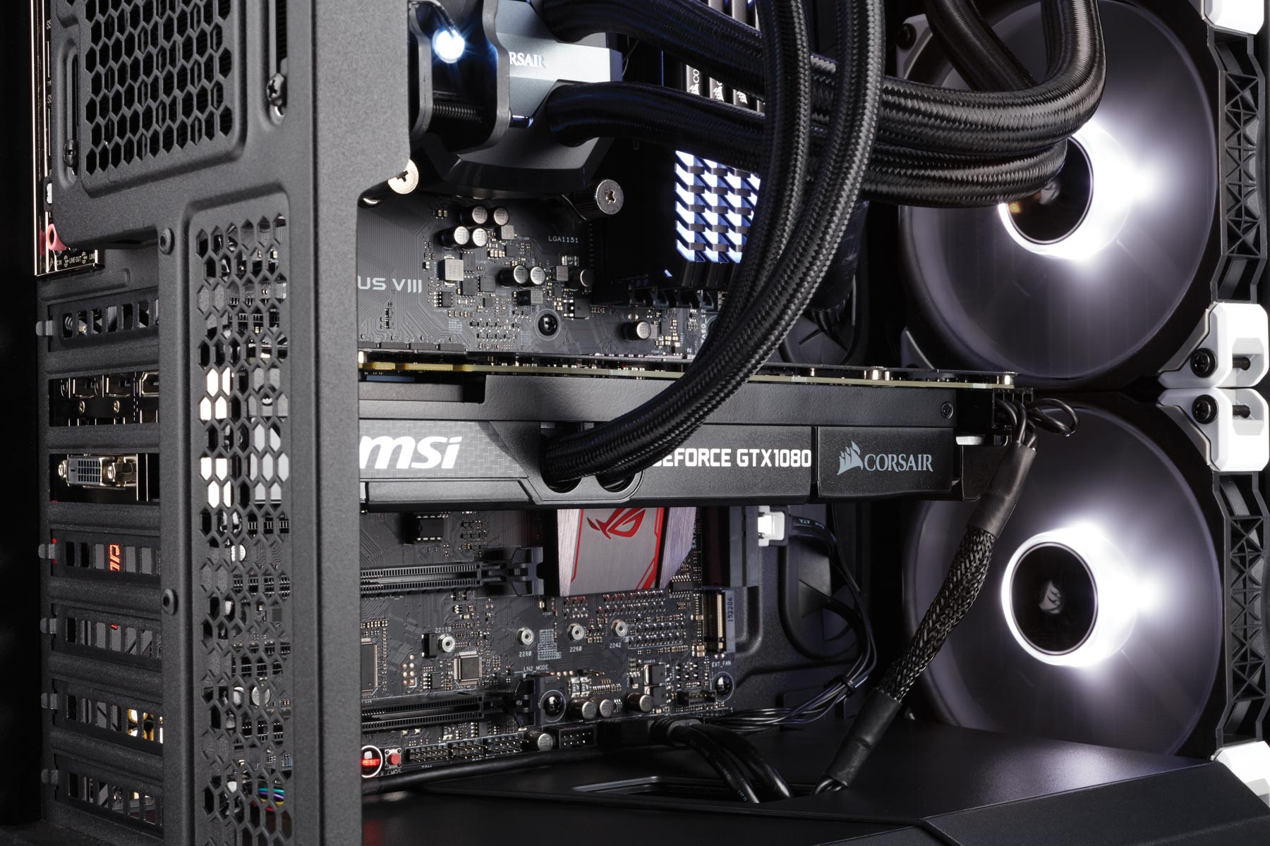 All In One Gpu Liquid Cooling Package From Msi And Corsair