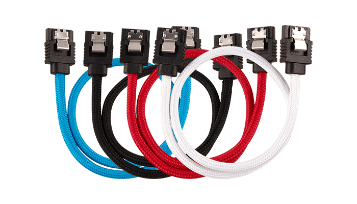 PREMIUM SLEEVED SATA CABLE