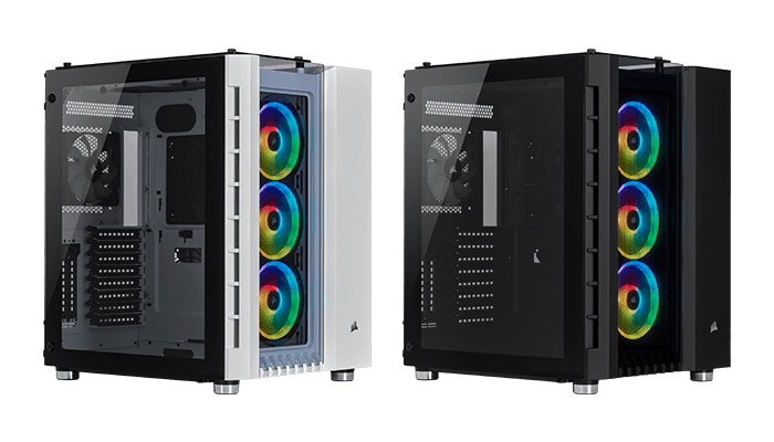 CRYSTAL SERIES 680X RGB HIGH AIRFLOW TEMPERED GLASS ATX SMART CASE