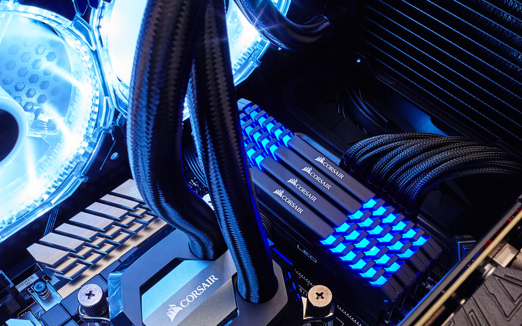 Vengeance Led Ddr Memory Stunning Lighting And Superior Overclocking All In One