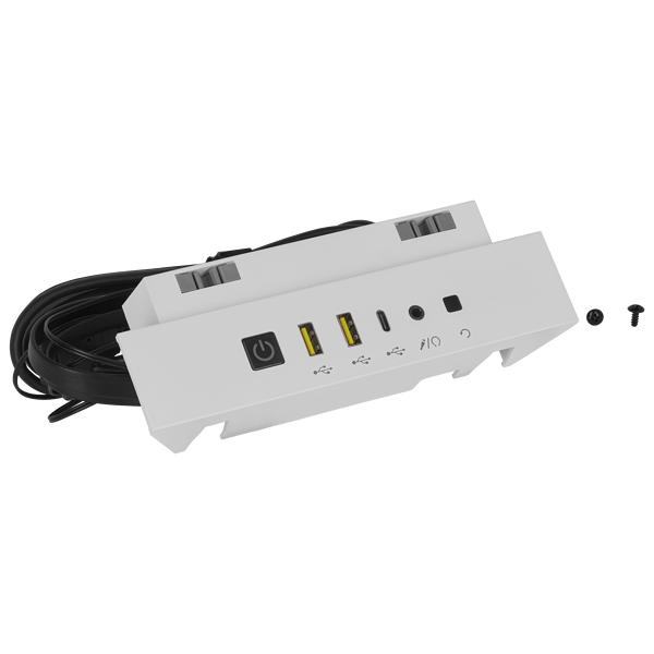 iCUE 5000X/5000D/5000D AIRFLOW I/O Panel, White