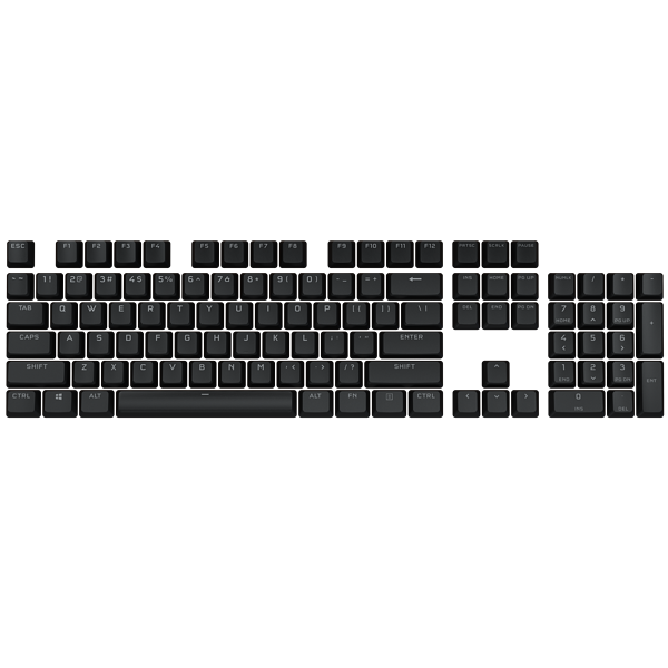PBT DOUBLE-SHOT PRO Keycap Mod Kit — Onyx Black (NA)