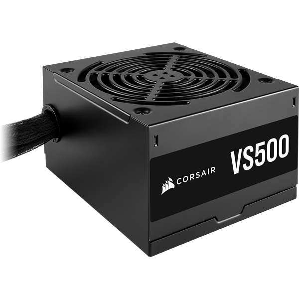 VS Series™ VS500 — 500 Watt 80 PLUS® Certified Non-Modular ATX PSU