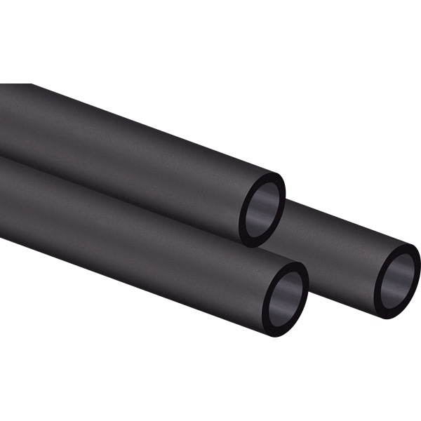 Hydro X Series XT Hardline 14mm Tubing — Satin Black