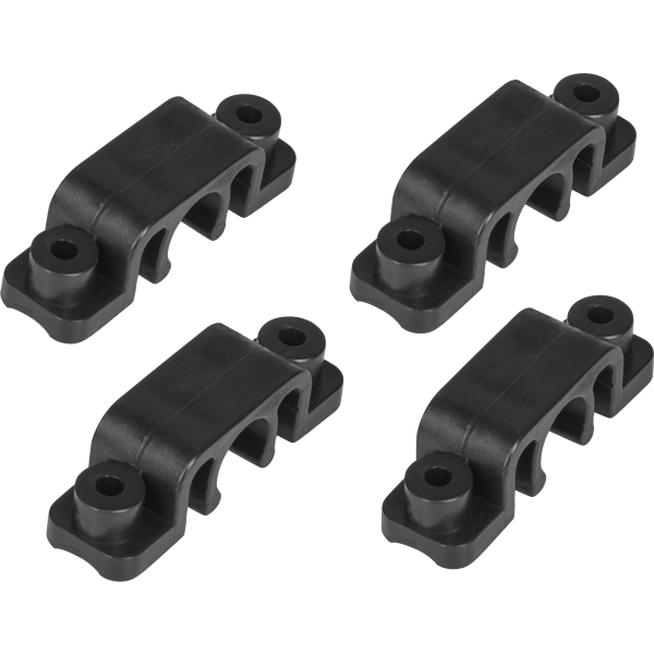 iCUE 4000X/4000D/4000D Airflow Side Panel Mounting Snaps, Black