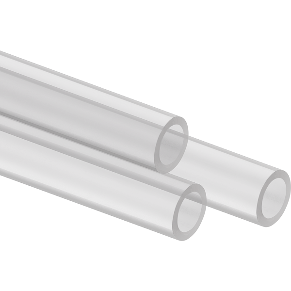 Hydro X Series XT Hardline 14mm Tubing — Satin Transparent