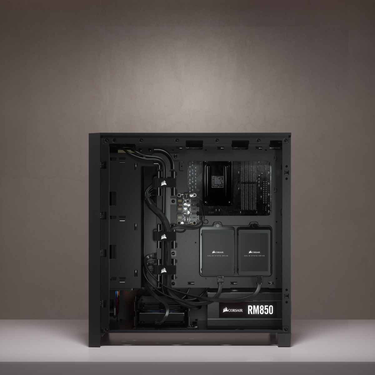 Corsair iCUE 4000X RGB Tempered Glass Mid-Tower ATX Case — Black 17