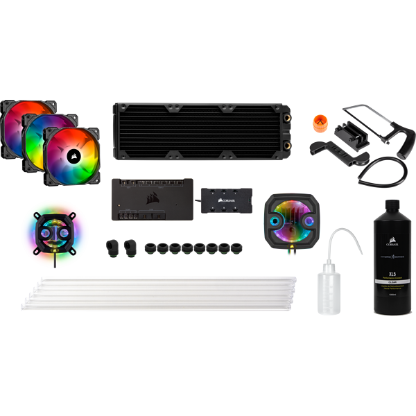 Hydro X Series iCUE XH303i RGB Custom Cooling Kit