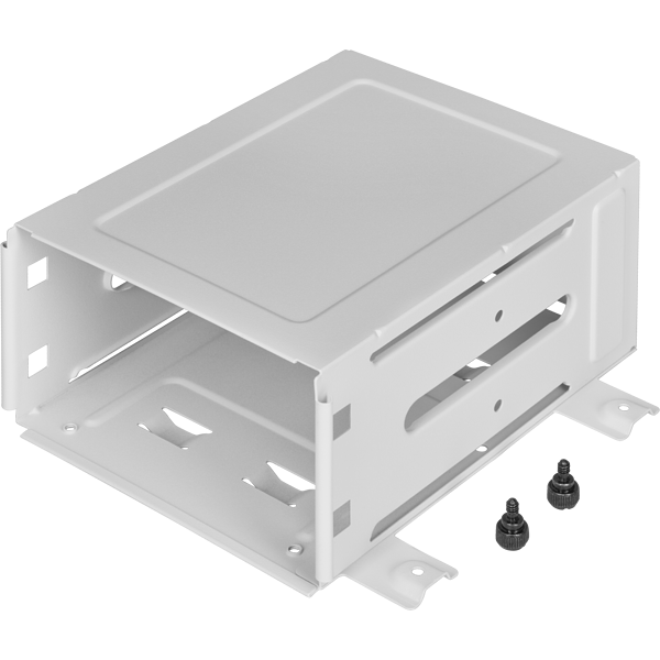 iCUE 4000X/4000D/4000D Airflow HDD Cage, White