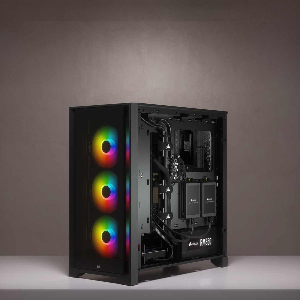 Corsair iCUE 4000X RGB Tempered Glass Mid-Tower ATX Case — Black 27