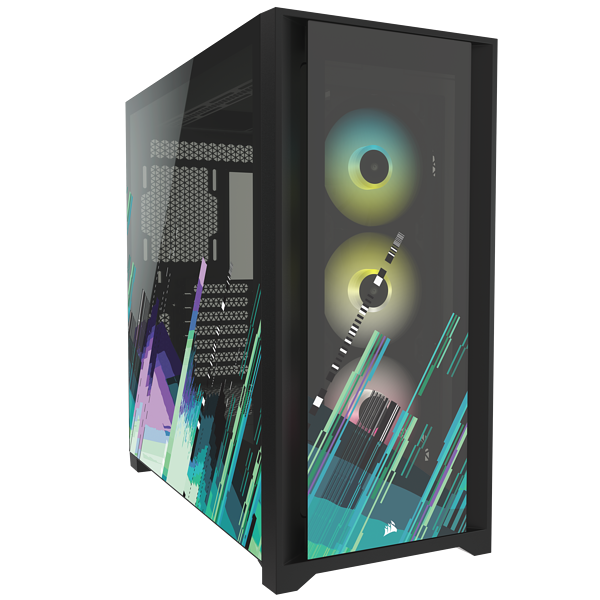 iCUE 5000X RGB SIGNATURE SERIES Mid-Tower Smart Case — Shift