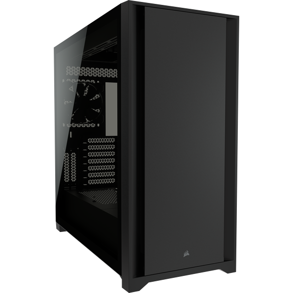 5000D Tempered Glass Mid-Tower ATX PC Case — Black