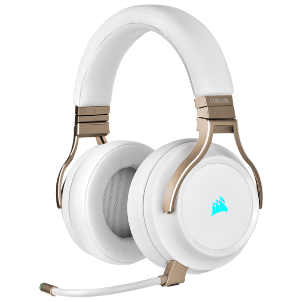 VIRTUOSO RGB WIRELESS High-Fidelity Gaming Headset — Pearl