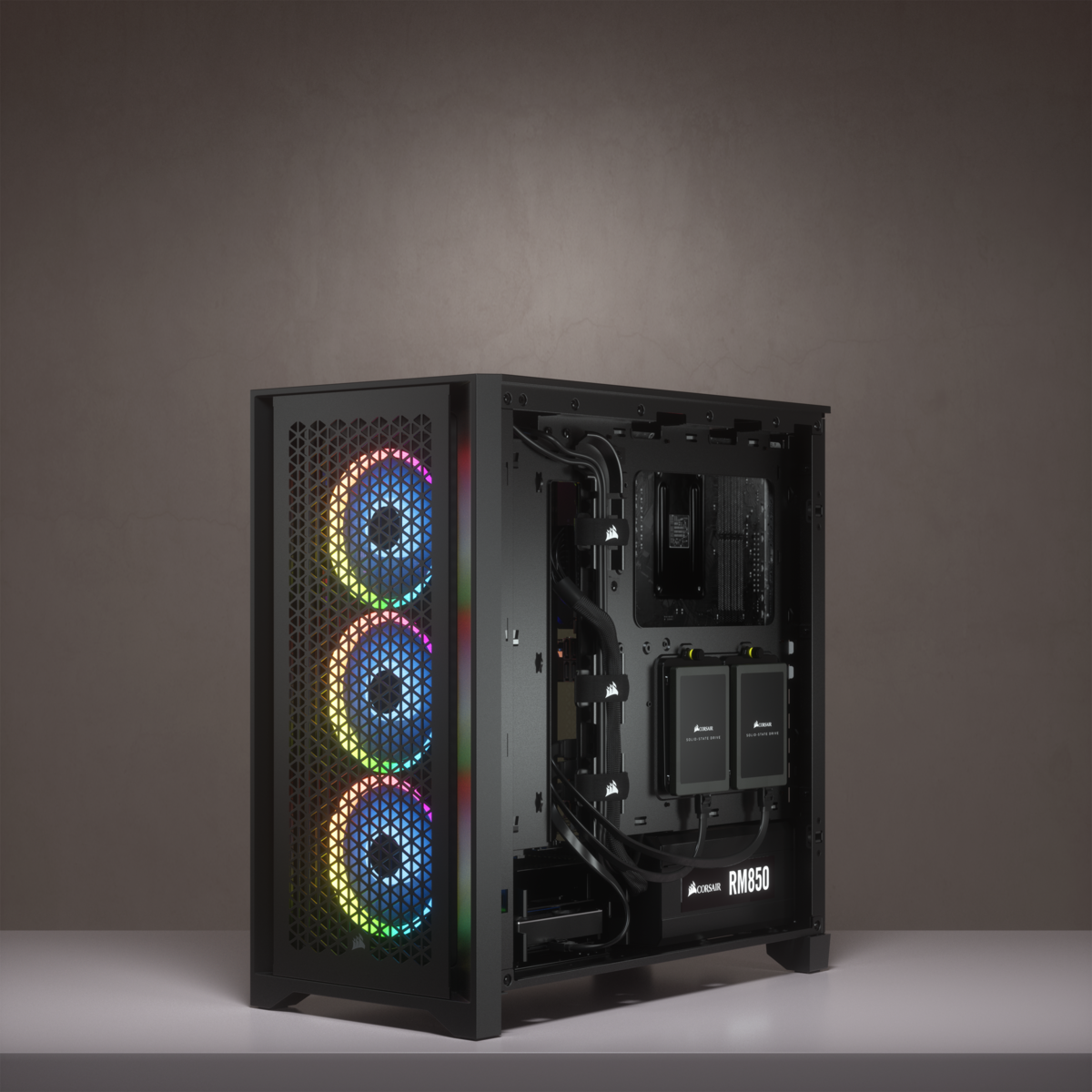 Corsair 4000D AIRFLOW Tempered Glass Mid-Tower ATX Case — Black 27