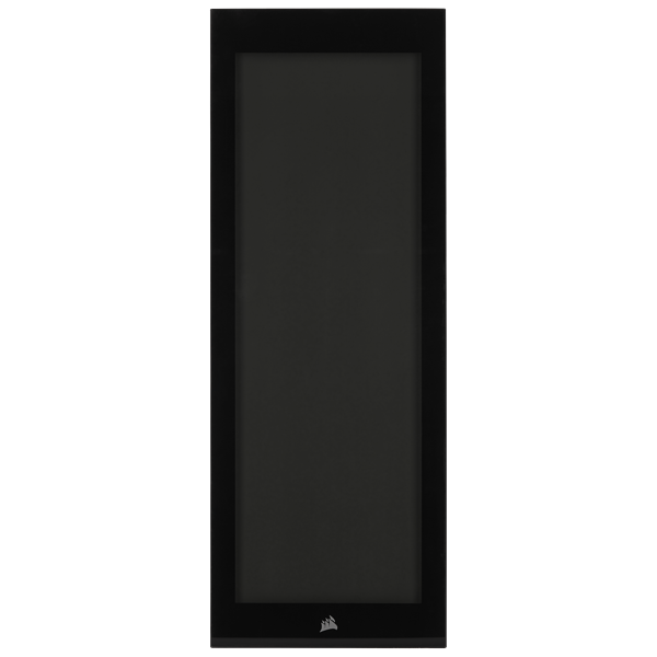 iCUE 5000X Front Tempered Glass Panel, Black