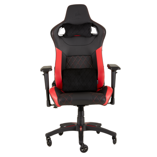 T1 RACE 2018 Gaming-Stuhl – Black/Red