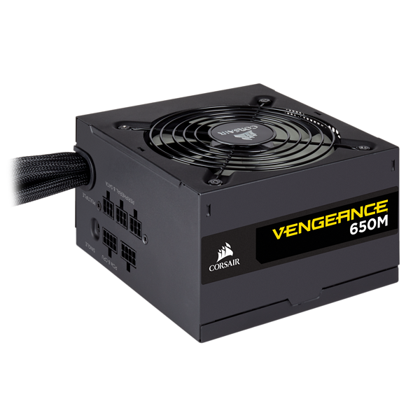 VENGEANCE Series™ 650M — 650 Watt 80 PLUS® Silver Certified PSU (AR)