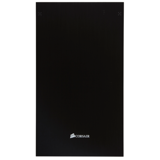 Obsidian Series™ 750D Solid Aluminum Front Panel