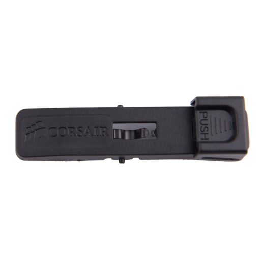 Carbide 400R Case - Tool-Free Optical Drive Bay Latch (black)
