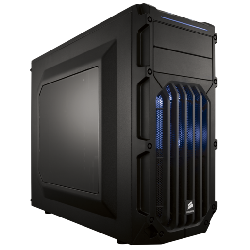 Carbide Series™ SPEC-03 Blue LED Mid-Tower Gaming Case
