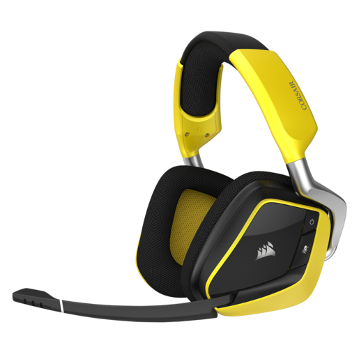 Casque gaming sans fil SE Premium VOID PRO RGB avec Dolby® Headphone 7.1 — Jaune (EU)
