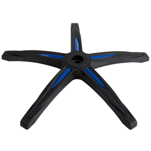 CORSAIR Gaming T1 RACE 5-Point Base, Black with Blue Trim