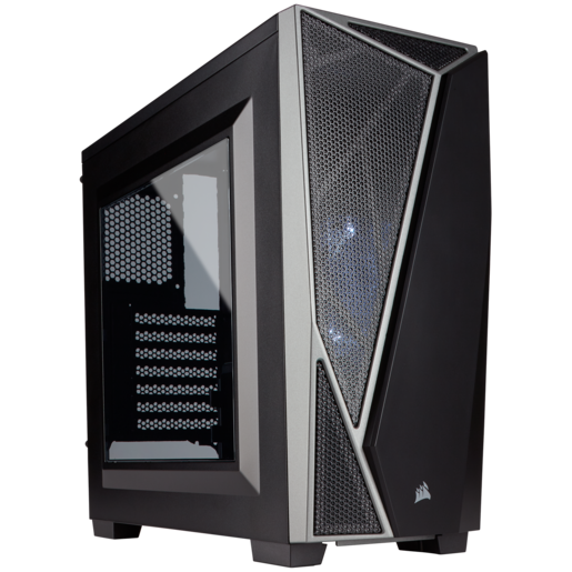 Carbide Series™ SPEC-04 Mid-Tower Gaming Case — Black/Grey
